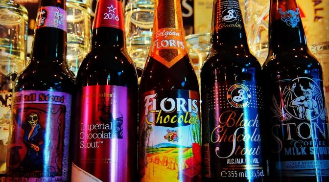バレンタイン企画 本日チョコビールが特別価格です