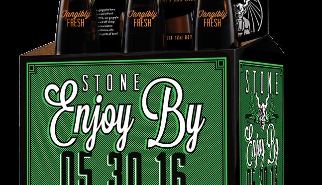 幻のビール!Stone Enjoy By IPA(ボトル)予約開始!!