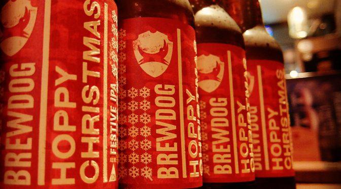 この季節がやってきた!ブリュードッグ ホッピークリスマス開栓!!