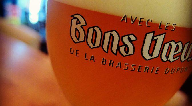 新年一発目はベルギーからお祝いビール!ボンヴー開栓!!