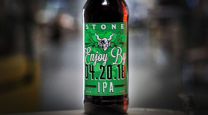 樽で入荷決定!Stone Enjoy By 04.20.18 IPA !!
