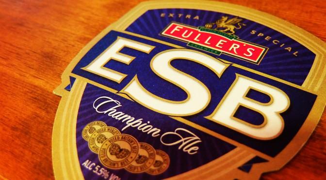 FULLER'S  ESB開栓!ロッテ戦も放映します。
