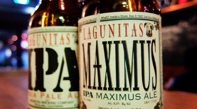 LAGUNITAS  MAXIMUS(ボトル)入荷!
