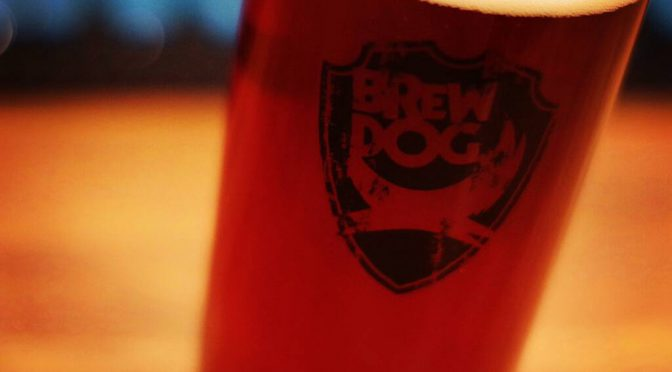 BREWDOG 5A.M. RED ALE 開栓!!