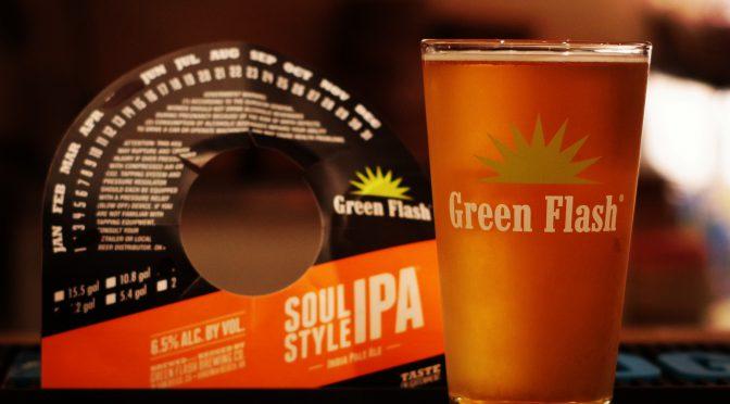 Green Flash Soul Style IPA開栓!!