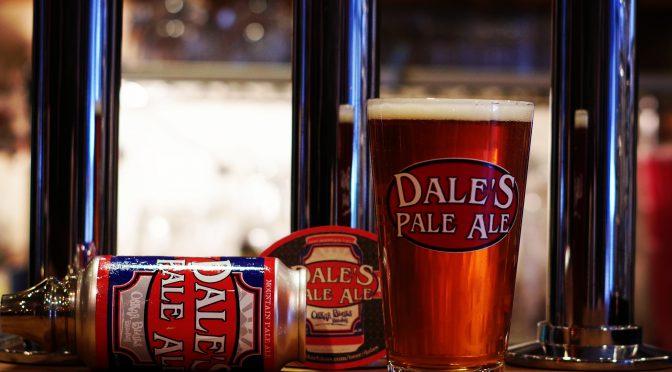 【緊急企画】本日は終日ハッピーアワーやっちゃいます!Oskar Blues Dale's Pale Ale開栓!!
