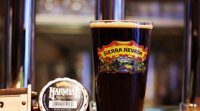 Sierra Nevada NarwhalとBREWDOG 5AMが開栓!!