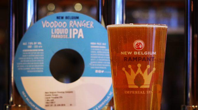 New Belgium Voodoo Ranger Liquid Paradise開栓!