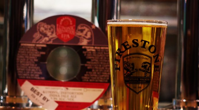 Indeed Mexican Honey Imperial LagerとFirestone Walker Luponic Distortion Rev.012が開栓!!
