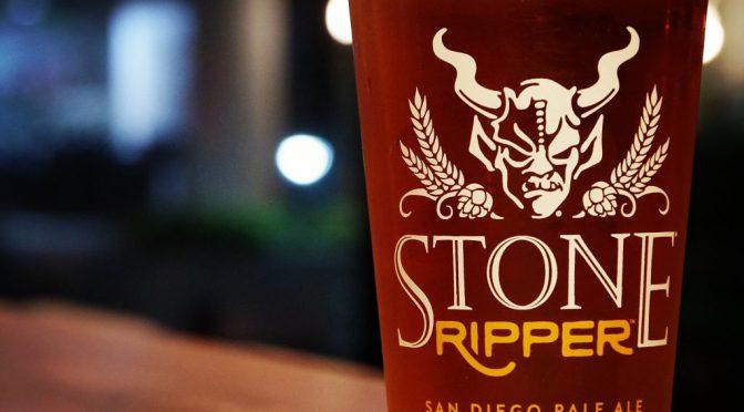 STONE Ripper開栓!毎週木曜はレディースデー!!