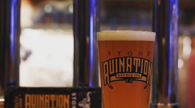 STONE Ruination Double IPA 2.0 Sans Filtre開栓!!