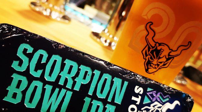 MAUI Double Overhead IPAとSTONE Scorpion Bowl IPAが開栓!!