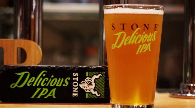 今夜はレディースデー!STONE Delicious IPAが開栓!!