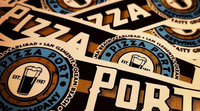 今夜もPizza Portだらけ!!ステッカーもあげちゃいます!!