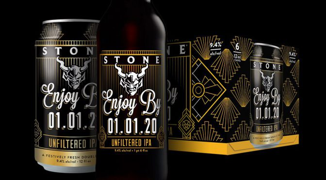 【予告】樽で入荷決定!STONE Enjoy By 01.01.20 Unfiltered IPA