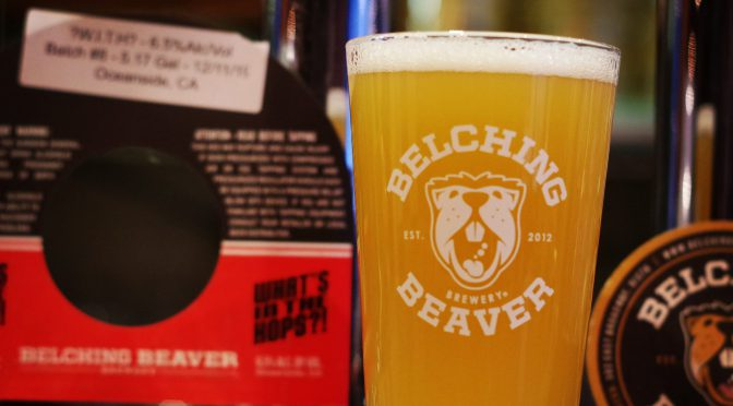 Belching Beaver What's in the Hops開栓!!