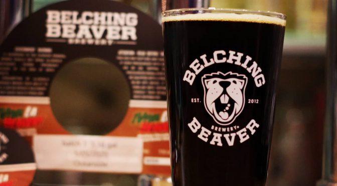 テイクアウトできます!Belching Beaver Viva La Beaver開栓!!