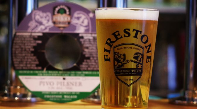 Firestone Walker Pivo開栓!!