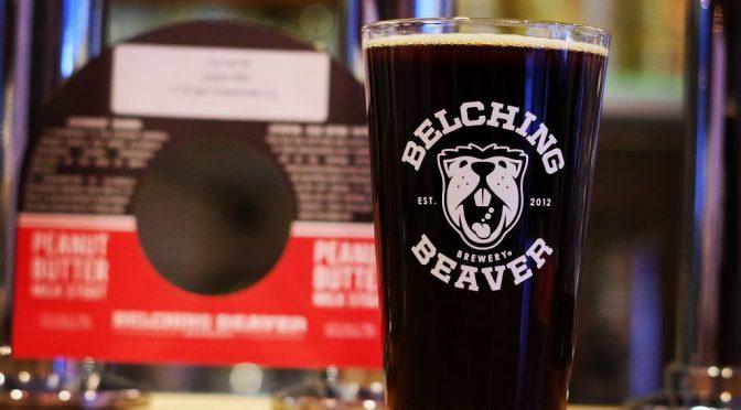 Belching Beaver Peanut Butter Milk Stout開栓!!