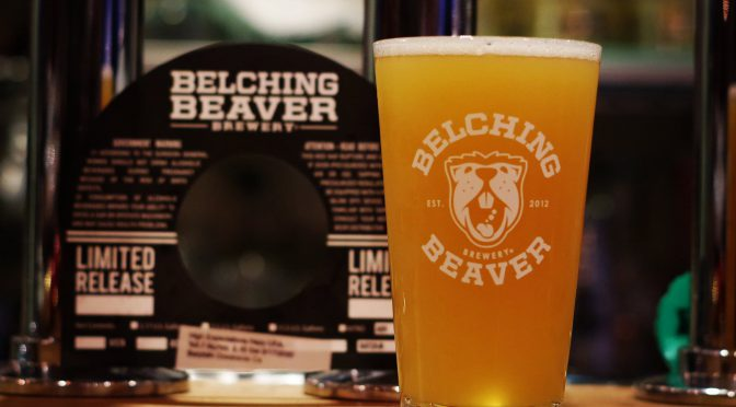 Karl Straussとのコラボ!Belching Beaver High Expectations開栓!!
