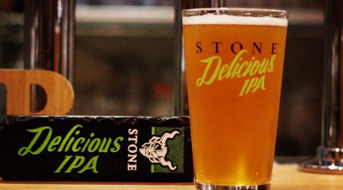 STONE Delicious IPA開栓!!