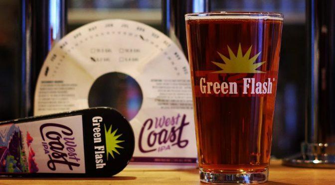 Green Flash West Coast IPA開栓!!