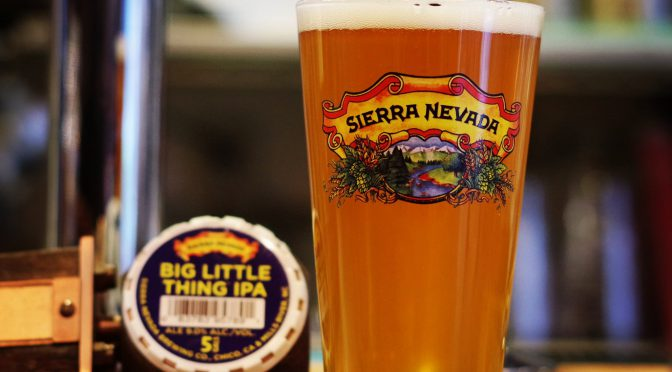 Sierra Nevada Big Little Thing開栓!!