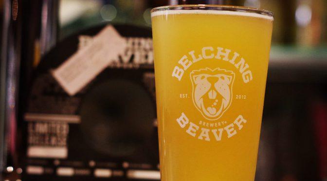 13時Open!Belchinhg Beaver No Worries IPA開栓!!